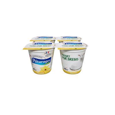 Yaourt pur brebis vanille (Paturages)