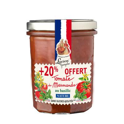 Sauce tomate de la region de marmande au basilic +20% offert - nature ssa - 300g - les legumes a ma facon (Les recettes cuites au chaudron)