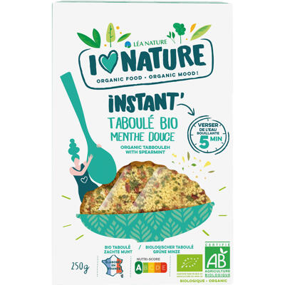 I love nature/ instant taboule menthe douce bio 250gr (I love nature)