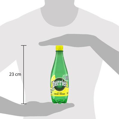 Perrier boisson à l'eau minérale naturelle gazeuse à l'arôme de citron 50cl (Perrier)