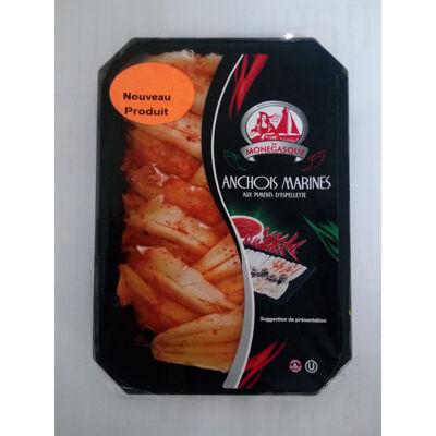 Anchois marinés au piment d'espelette (La monegasque)