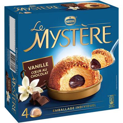 Mystère vanille cœur au chocolat 4x77g (Mystère)