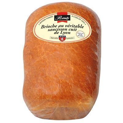 Brioches au véritable saucisson cuit de lyon 400g - format familial (Randy)