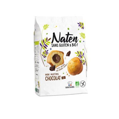 Mini muffins fourres chocolat 200g naten (Naten)