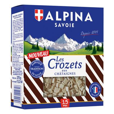 Crozets aux chataignes 375g (Alpina savoie)