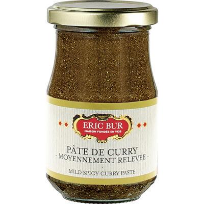 Pate de curry moyennement releve 200g (Eric bur)