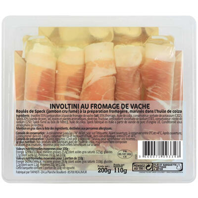 Involtini au fromage de vache (Tapasti)