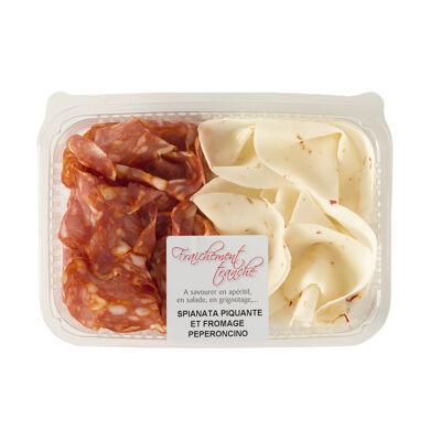 Duo spianata et fromage piquant (Corte del gusto)