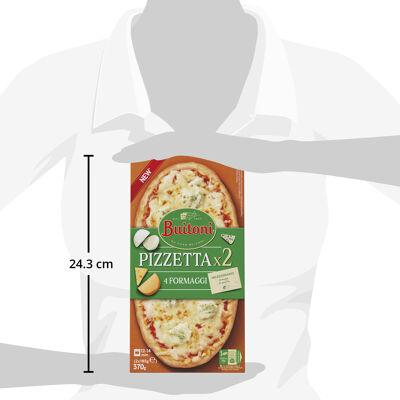 Buitoni pizzetta 4 formaggi 2x185g (Buitoni)