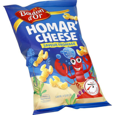 Homar'cheese saveur fromage 125g (Bouton d'or)