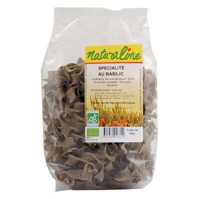 Specialite demi-completes au basilic bio 250 g (Naturaline)