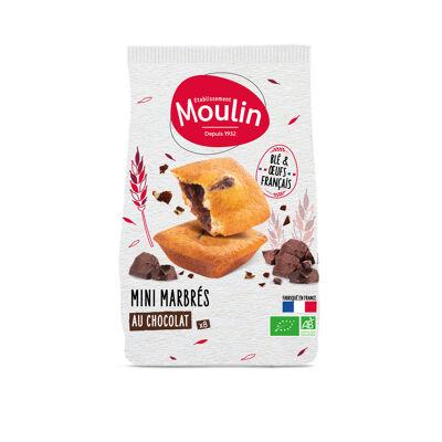 Mini marbré chocolat (Moulin)