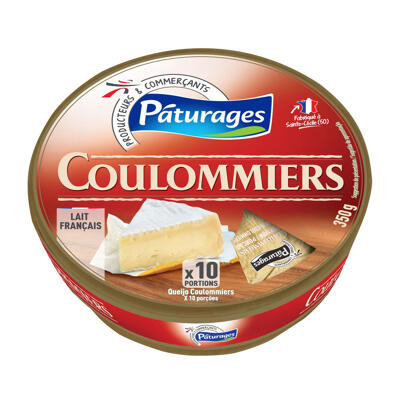 Coulommiers en portions (Paturages)