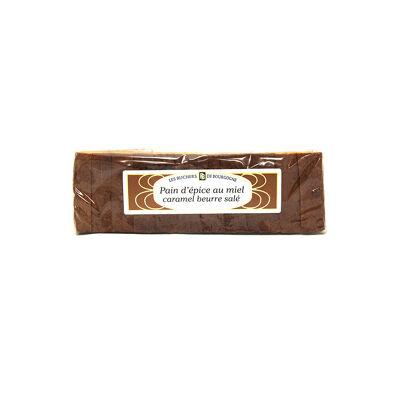 Pain d'epice tranché caramel beurre salé et fl sel guérande (Les ruchers de bourgogne)