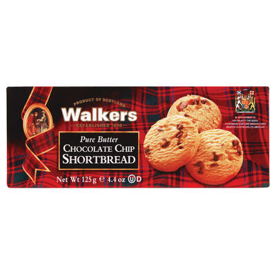 Shortbread chocolate chip 125g - walkers - 125g (Walkers)