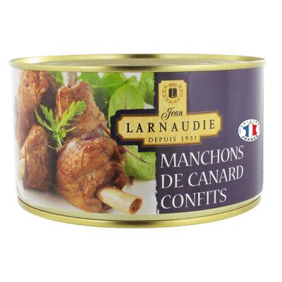 Manchons de canard confits 1240g (Jean larnaudie)