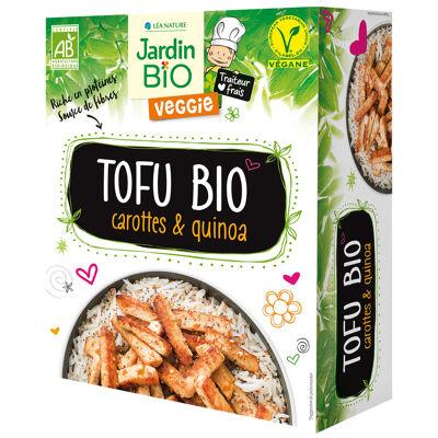 Tofu carottes & quinoa* jardin bio (Jardin bio)