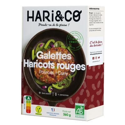 Galettes de haricots rouges bio 360g (4x90g) (Hari&co)