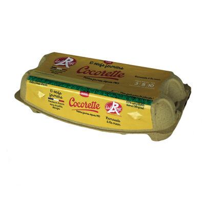 Cocorette label rouge fermier petit x 10 (Cocorette)