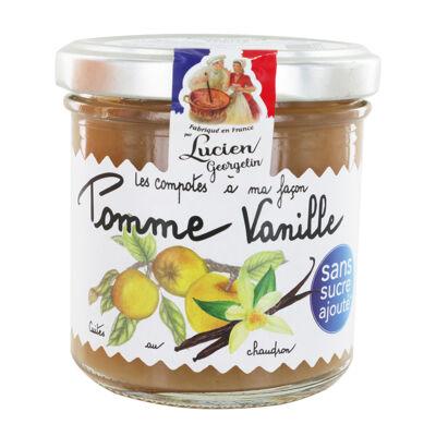 Puree pomme vanille 150g les recettes au chaudron (Les recettes cuites au chaudron)