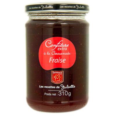 Les recettes de juliette - confiture extra fraise à la cassonade 310g (Les recettes de juliette)