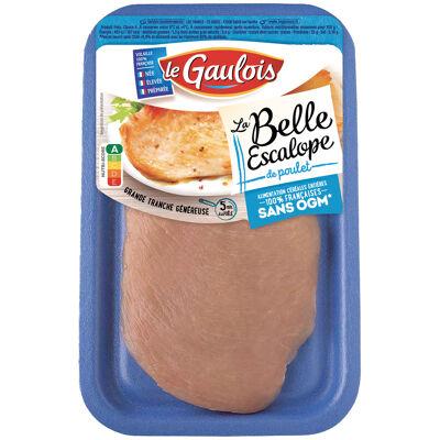 Le gaulois la belle escalope poulet nogm sat (Le gaulois)