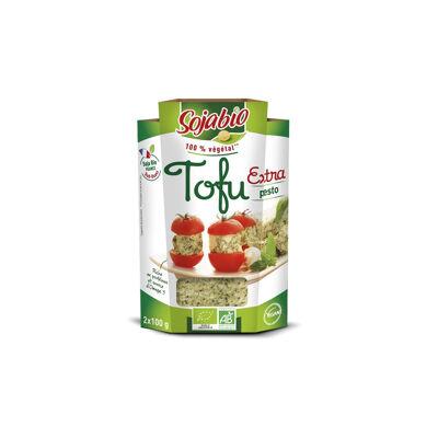 Tofu extra bio pesto 2x100g (Sojabio)
