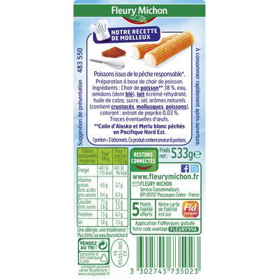 32 bâtonnets surimi moelleux format familial (Fleury michon)