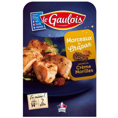 Le gaulois morceaux chapon crème morilles 250g (Le gaulois)