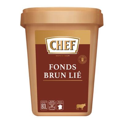 Fonds brun lié chef boîte de 1,2 kg pour 30l à 80l (Chef)