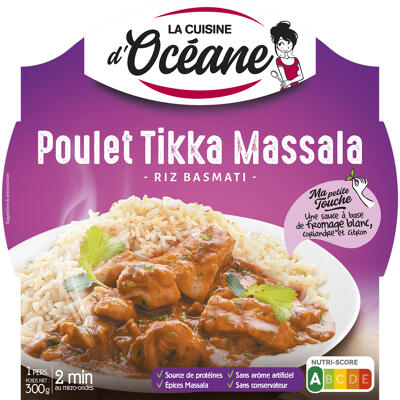 Poulet tikka massala & riz basmati (La cuisine d'océane)