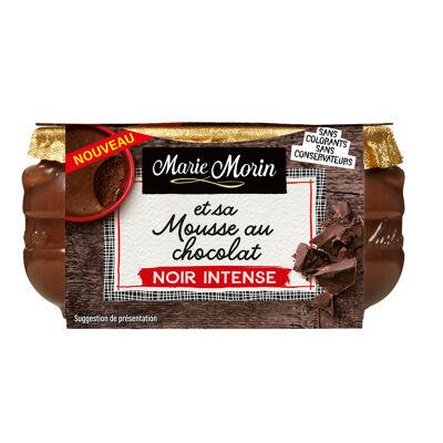 Mousse au chocolat noir intense 100g (Marie morin)