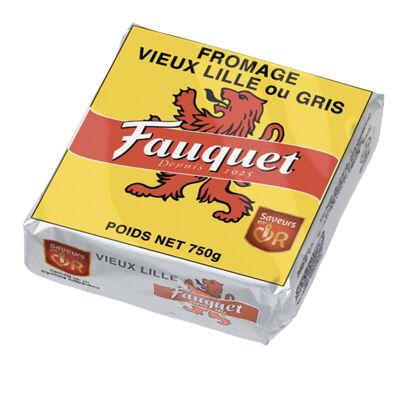 Fauquet vieux lille coupe 750g 24% (Fauquet)