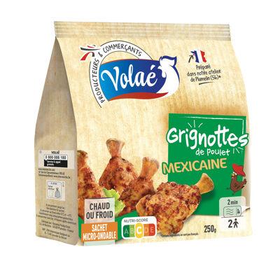 Manchons de poulet marinés, rôtis, aromatisés (Volae)