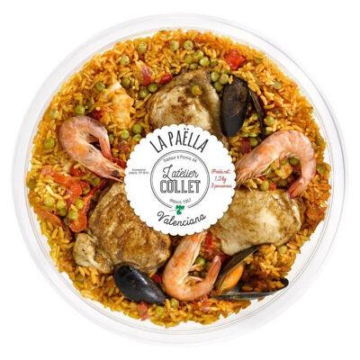 Paella valenciana 1.2kg (Atelier collet)