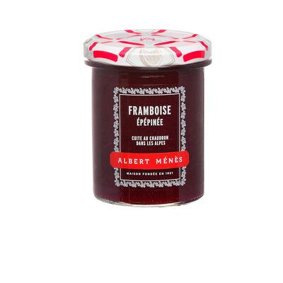 Confiture extra de framboise epepinee 280 g (Albert ménès)