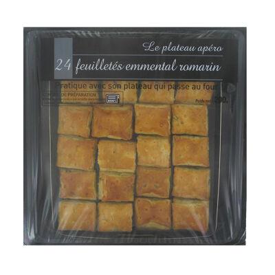 Plateau feuilleté allumette emmental romarin (Michel bolard)