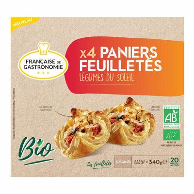 Paniers bio aux legumes soleil 4x85g fdg (Francaise de gastronomie)