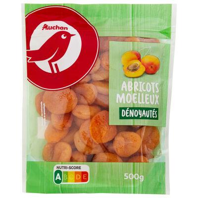 Auchan abricots moelleux denoyautés 500g (Auchan)