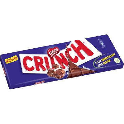 Crunch chocolat au lait et céréales croustillantes - sans gluten 250g (Crunch)