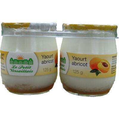 Yaourt abricot (Le petit versaillais)