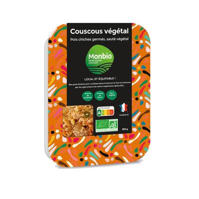 Plat couscous veggie bio 250g (Monbio)