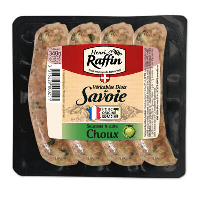 Diots de savoie aux choux x4 hr 340g (Henri raffin)