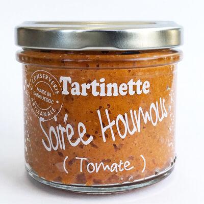 Tartinette soirée houmous tomate - tartinable salé 110g (Tartinette)