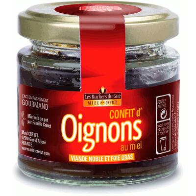 Confit d'oignons au miel 110g (Maison cretet)
