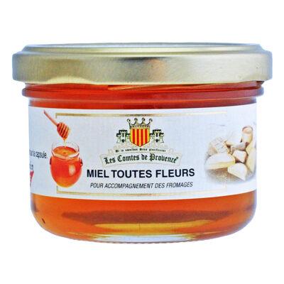 Miel toutes fleurs de provence 120g (Les comtes de provence)