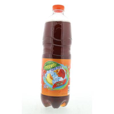 Iced tea aromatisé saveur pêche ()