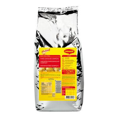 Purée granulée complète mousline - sac de 4,5 kg jusqu'à 135 portions (Mousline)