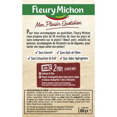 Gratin dauphinois jambon et emmental (Fleury michon)
