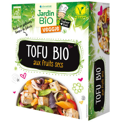 Tofu fruits secs* jardin bio (Jardin bio)